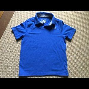 Boys Under Armour Polo Shirt, Size YSM